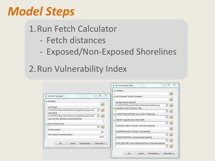 Model Steps