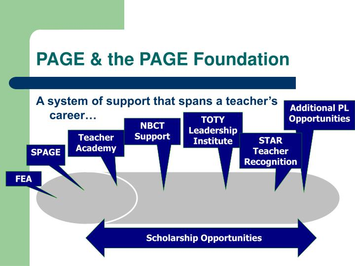 PAGE & the PAGE Foundation