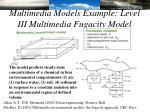 multimedia models example level iii multimedia fugacity model