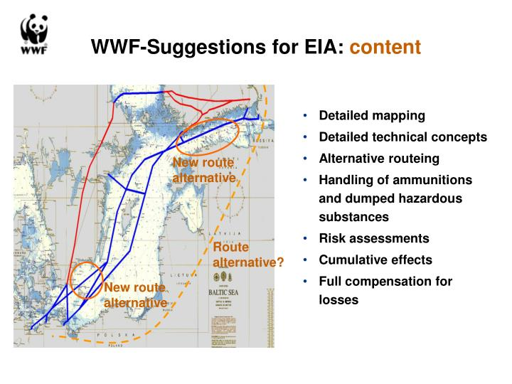 WWF-Suggestions for EIA: