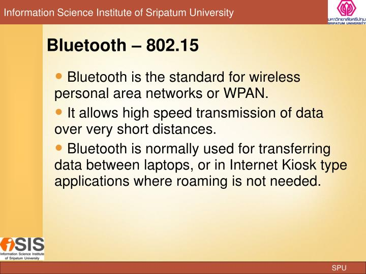 Bluetooth  802.15