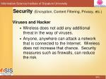 security encryption content filtering privacy etc3