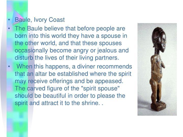 Baule, Ivory Coast