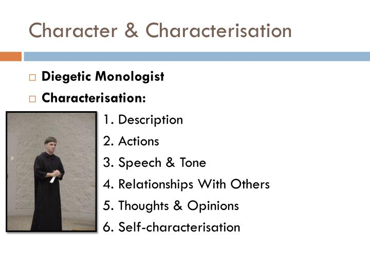 Character & Characterisation