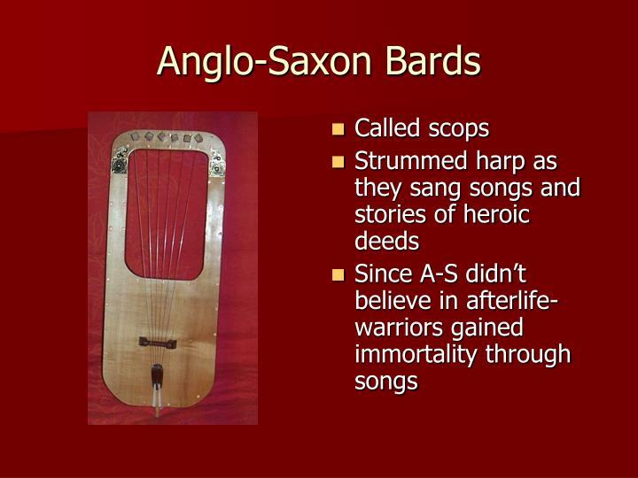 Anglo-Saxon Bards