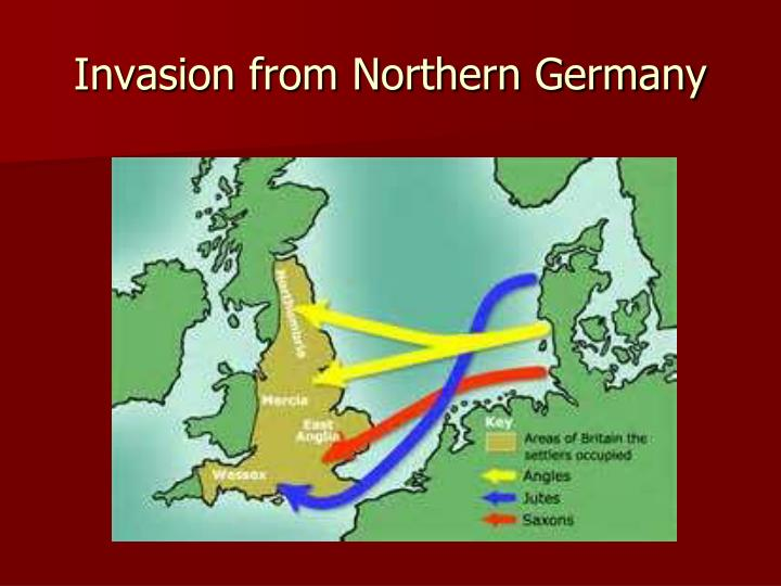 Invasion from Northern Germany