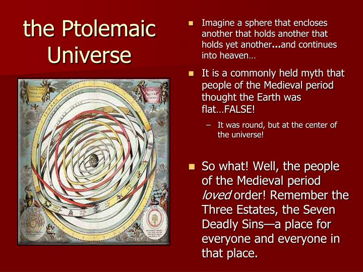 Imagine a sphere that encloses another that holds another that holds yet another