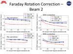 faraday rotation correction beam 2