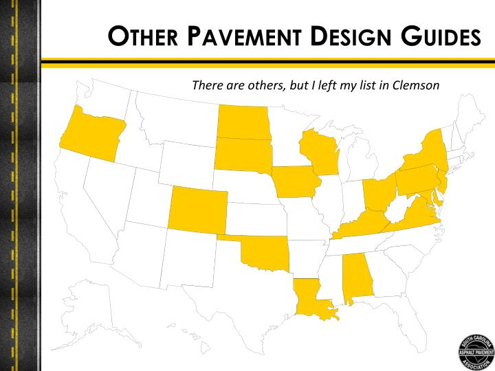 Other Pavement Design Guides