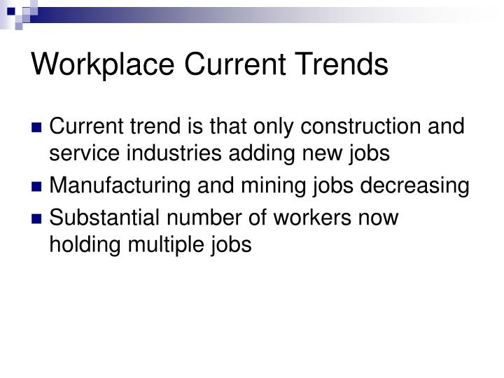 Workplace Current Trends