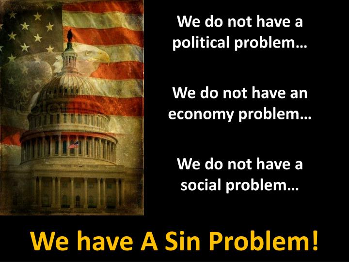 We do not have a political problem…