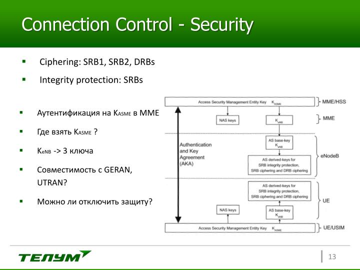 Connection Control - Security