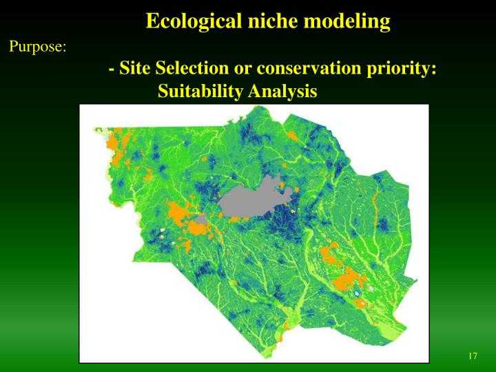 Ecological niche modeling