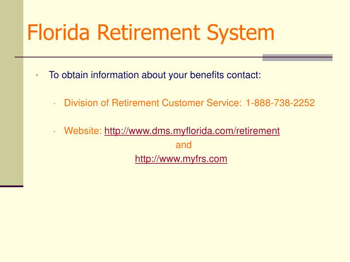Florida Retirement System