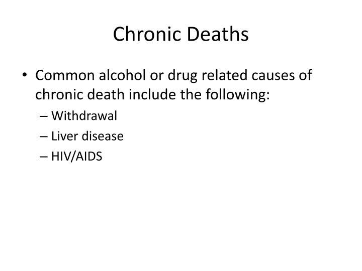 Chronic Deaths