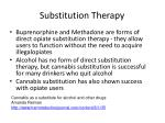 substitution therapy