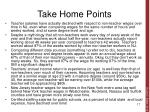 take home points1