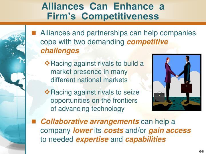 Alliances  Can  Enhance  a