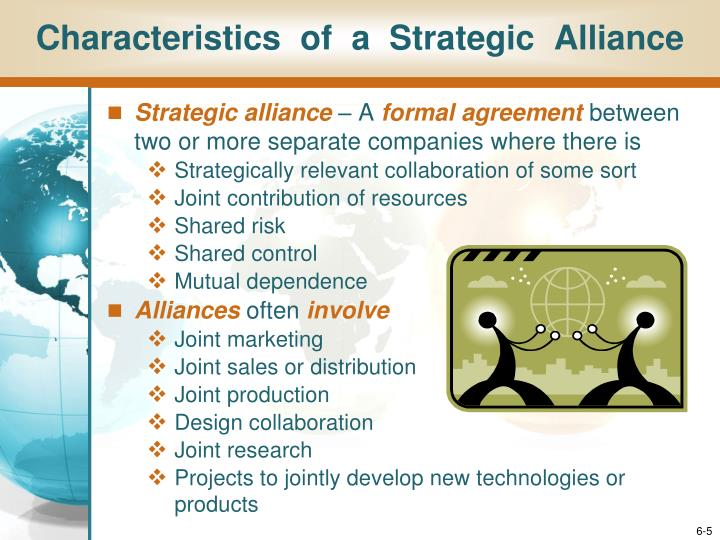 Characteristics  of  a  Strategic  Alliance