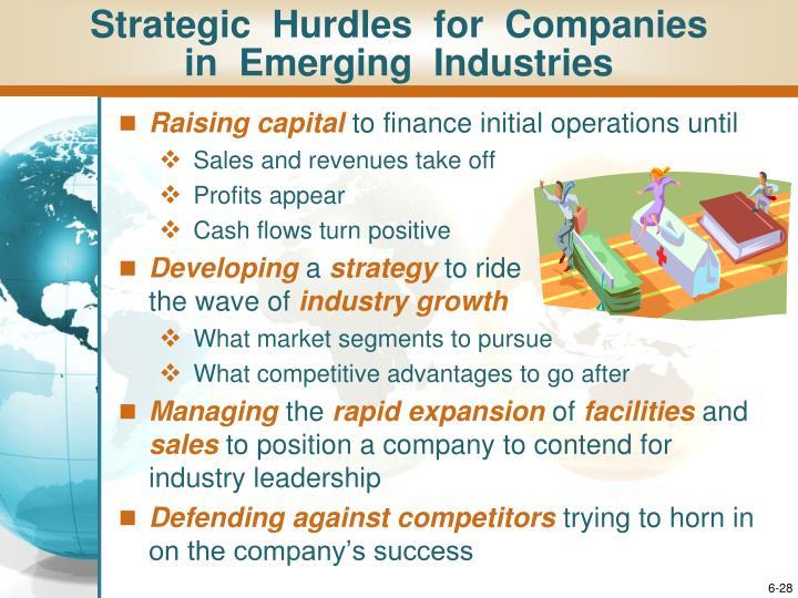 Strategic  Hurdles  for  Companies