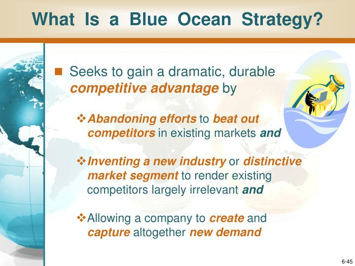 What  Is  a  Blue  Ocean  Strategy?