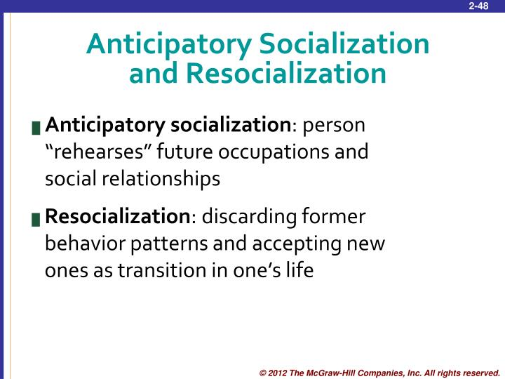 Anticipatory Socialization