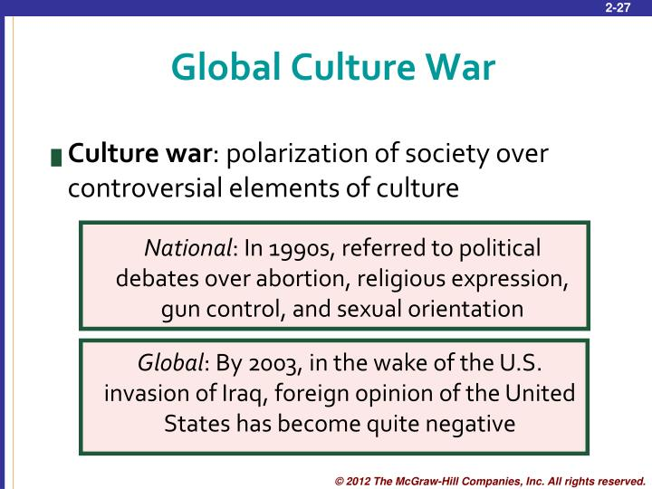 Global Culture War
