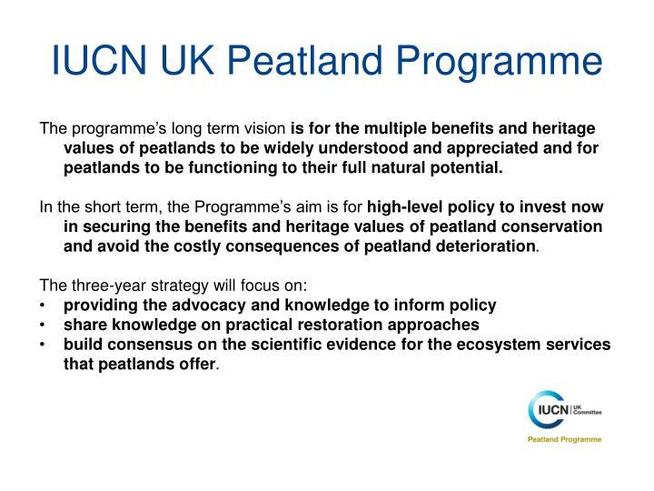 IUCN UK Peatland Programme