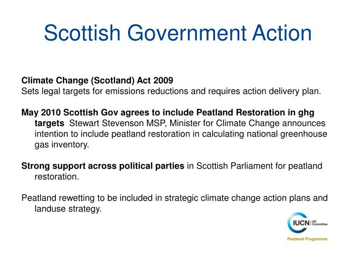 Scottish Government Action