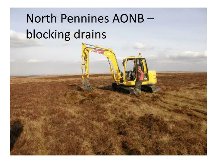 North Pennines AONB – blocking drains