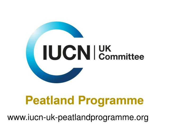 www.iucn-uk-peatlandprogramme.org