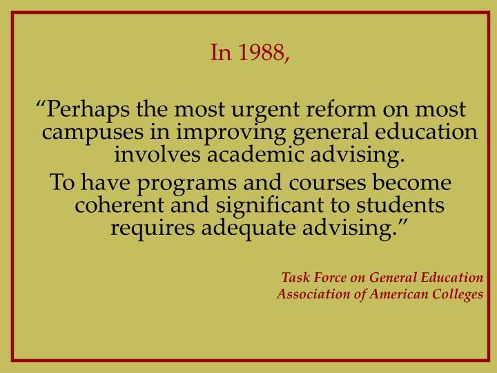 In 1988,