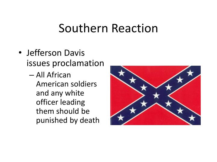 Southern Reaction