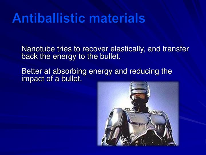 Antiballistic materials