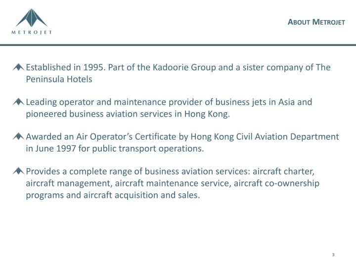 About Metrojet