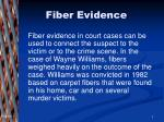fiber evidence1