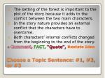 choose a topic sentence 1 2 or 3