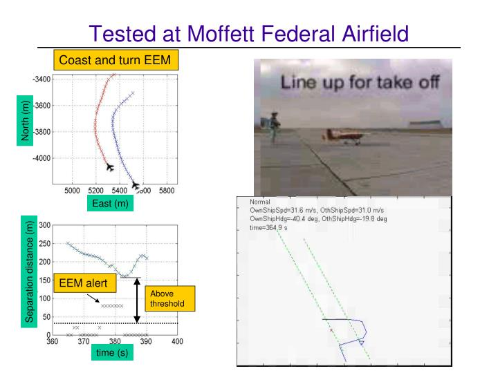 Tested at Moffett Federal Airfield