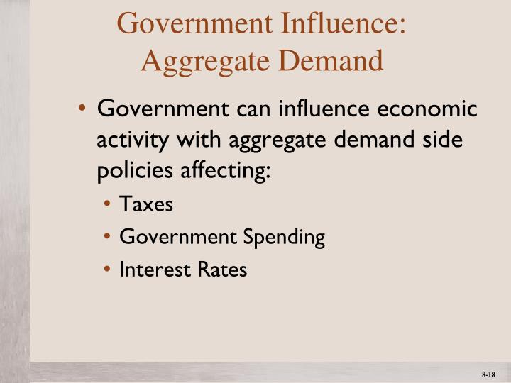 Government Influence: