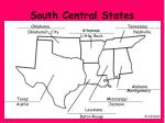 south central states