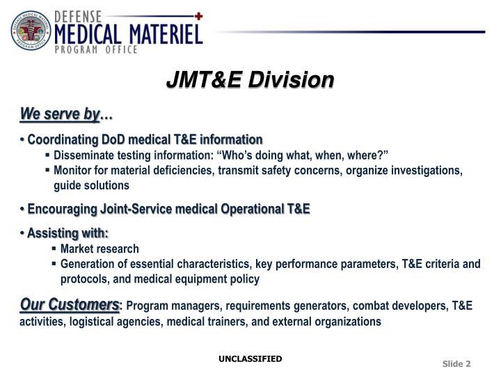 JMT&E