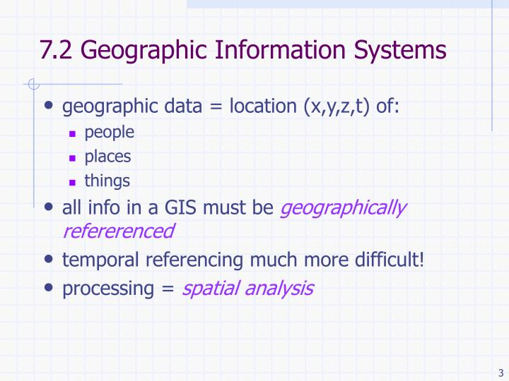 7 2 geographic information systems