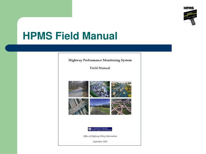 HPMS Field Manual