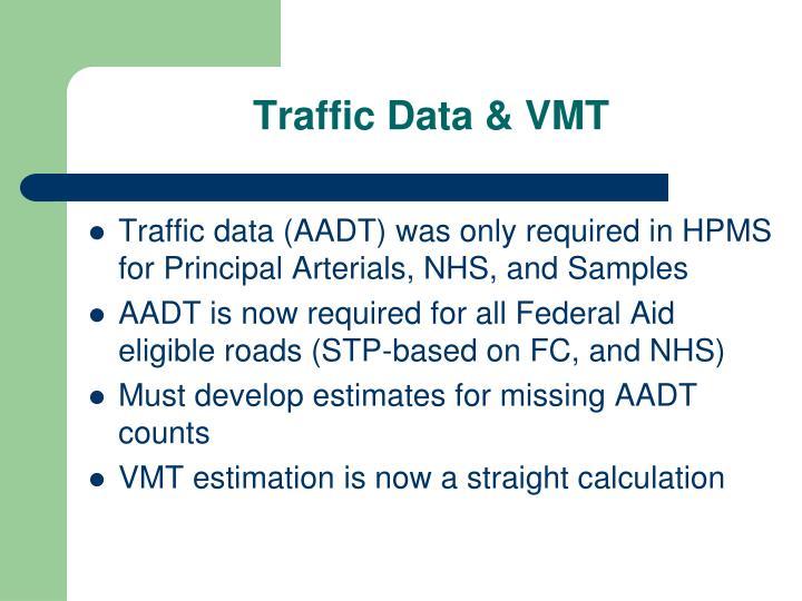 Traffic Data & VMT