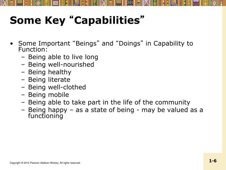 Some Key