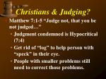 christians judging4