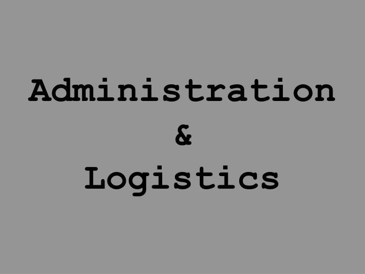 Administration &
