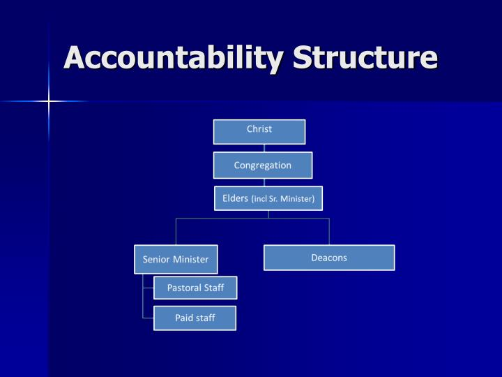 Accountability Structure