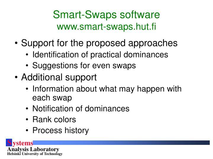 Smart-Swaps software