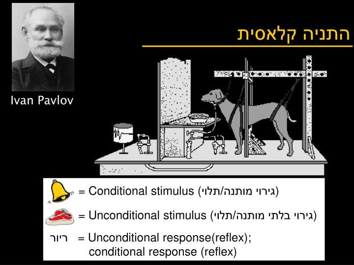 = Conditional stimulus (